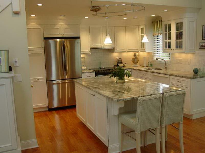 How to pick the best color for kitchen cabinets home and for What is the best way to paint kitchen cabinets white
