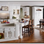 Hue Color Cabinets as A Kitchen Theme Idea