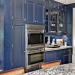 Designing Navy Blue Kitchen