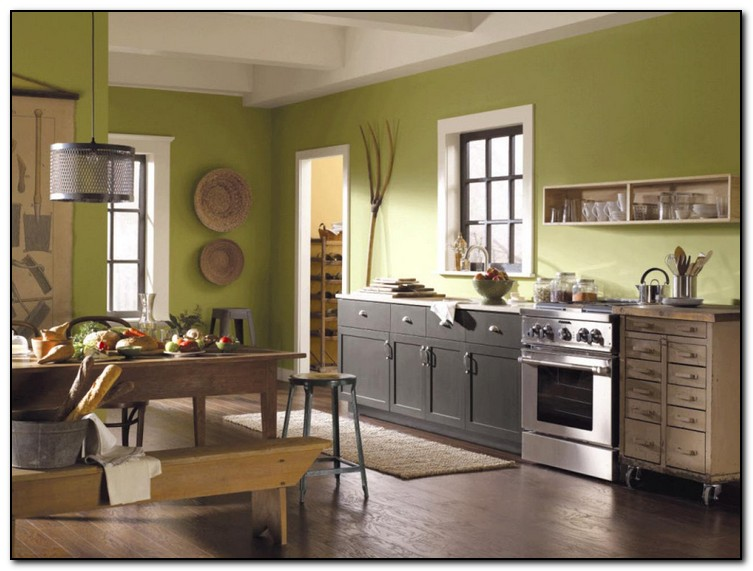 Paint Color Ideas for Your Kitchen | Home and Cabinet Reviews