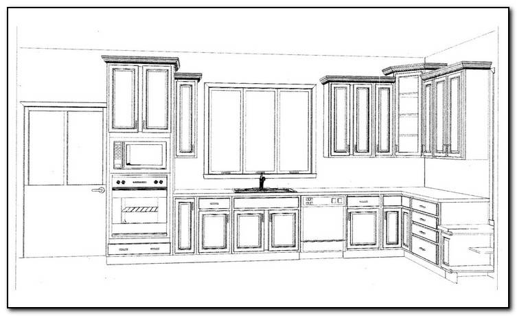 Designing Kitchen Cabinets Layout Part 78