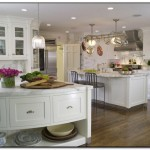 elegant white kitchen photos