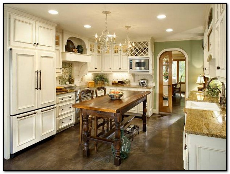 Large Kitchen Blue Island