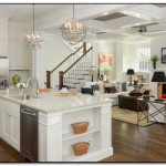 hanging lights over kitchen island