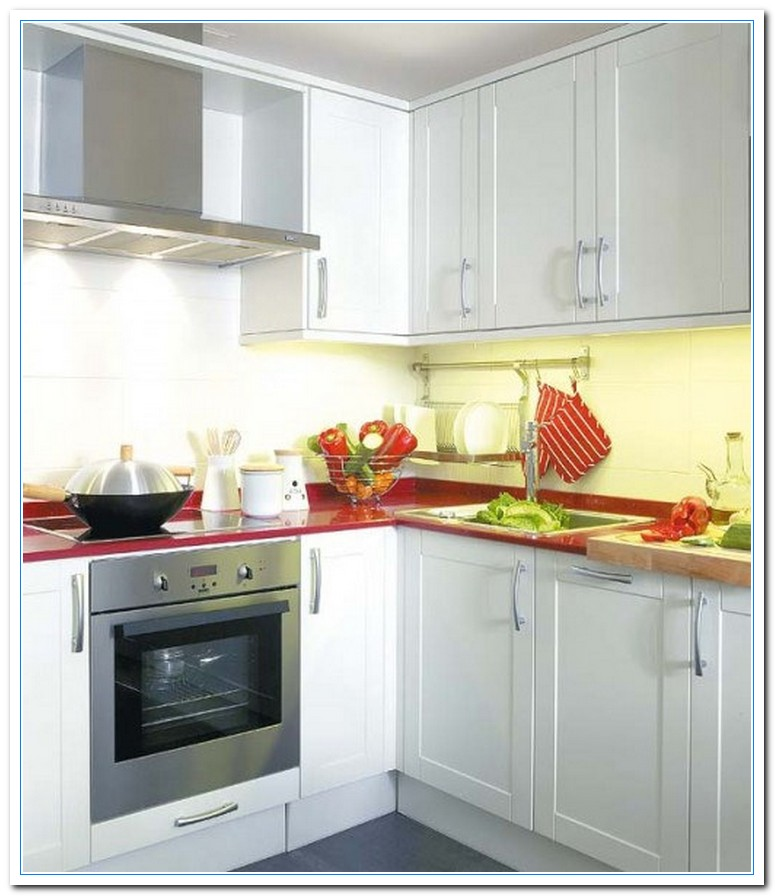 Information on small kitchen design layout ideas home for Built in kitchen cupboards for a small kitchen