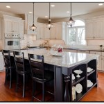 kitchen with pendant lighting over island
