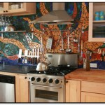 mexican tile kitchen backsplash