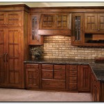 mission oak kitchen cabinets