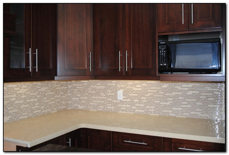 Granite Kitchen Counter No Backsplash No Tile