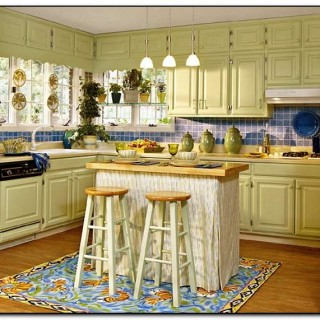 paint colors for kitchens with maple cabinets
