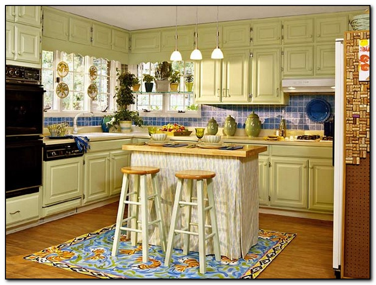 Tips For Kitchen Color Ideas: Kitchen Cabinet Colors Ideas For DIY Design