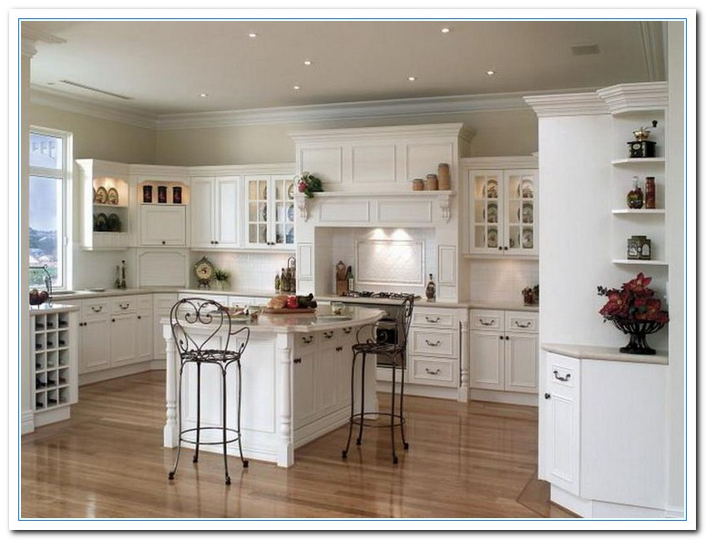 Image Result For White Country Kitchen Cabinets