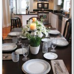 simple kitchen table centerpiece ideas