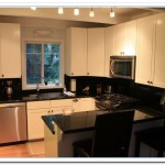 small kitchen white cabinets