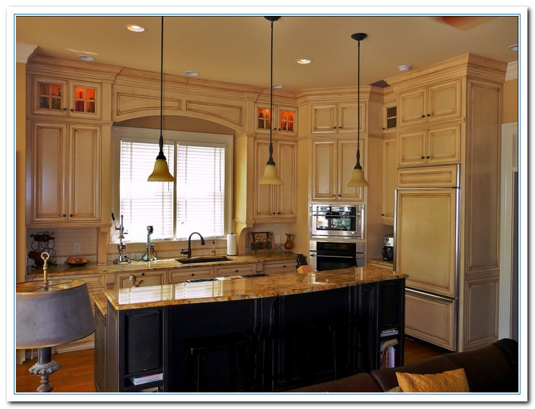 Information On Two Tone Kitchens Designs Home And