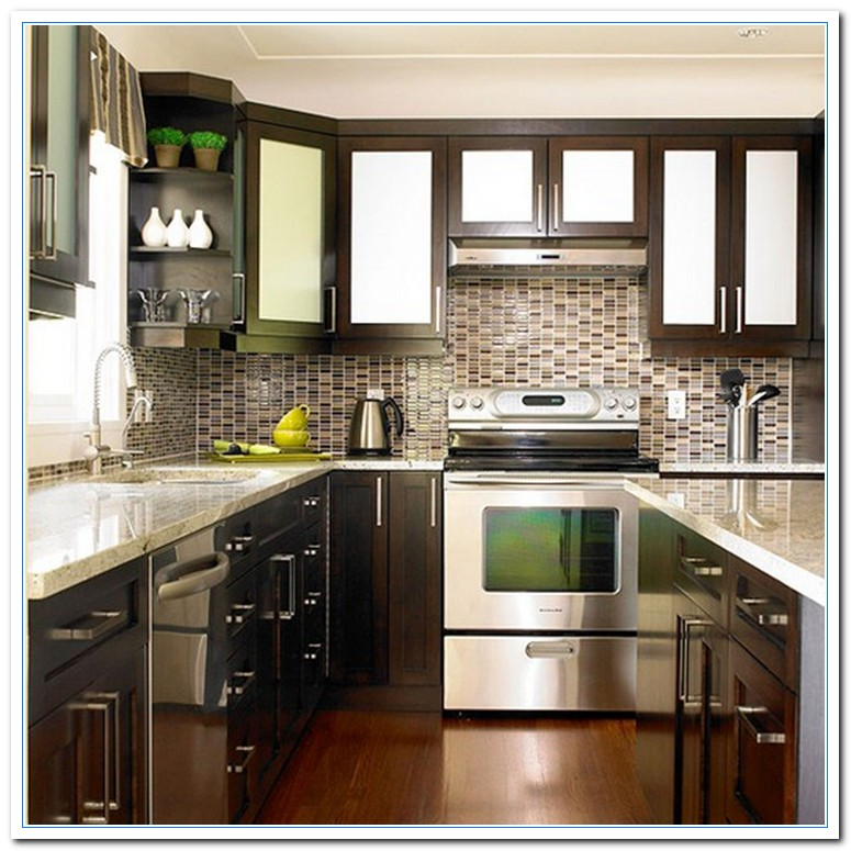 Kitchen Cabinet Color Two Tone Paint