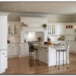 The Benefit of Kitchen Wall White Color with Oak Cabinets