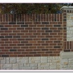 How to Build Brick Wall Fence Designs?