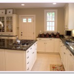 granite countertops white cabinets