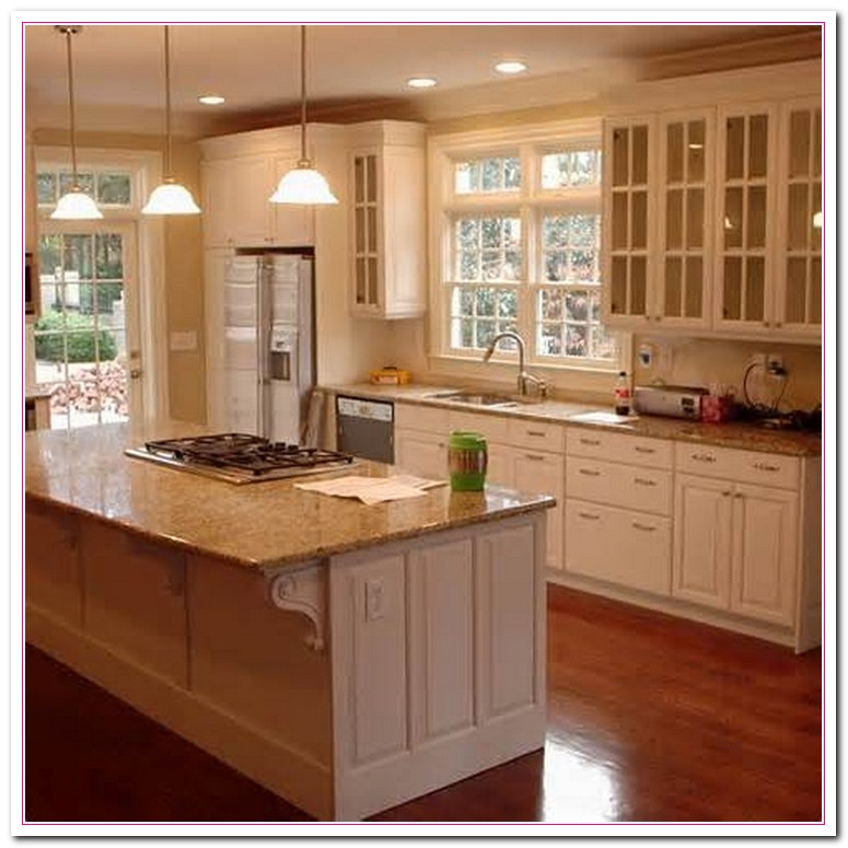 Kitchen Cabinets Home Depot: White Kitchen Design : What To Think About?