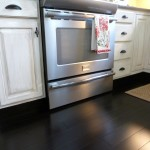 how to distress white kitchen cabinets