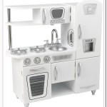 kidkraft white retro kitchen