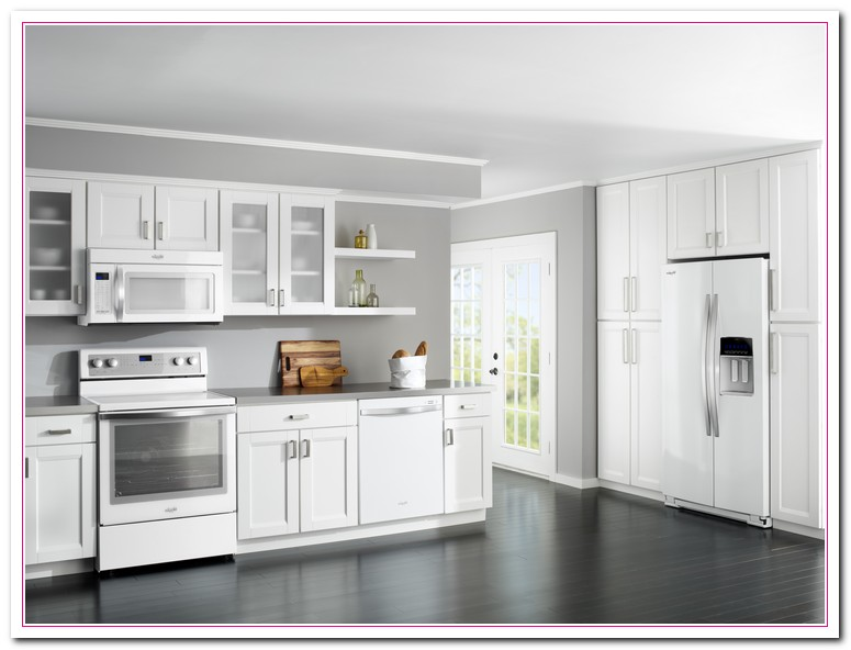 pictures of white kitchen cabinets with white appliances a guide on how to design your white themed kitchen home 9885