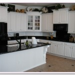 pictures of white kitchen cabinets with white appliances