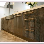 Wood Cabinet And Its Countertops