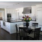 white cabinets dark granite countertops