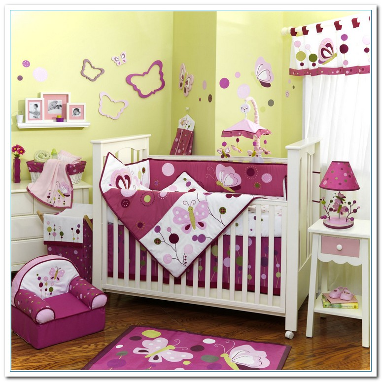 Ideas of baby bedroom decoration home and cabinet reviews Baby room themes for girl