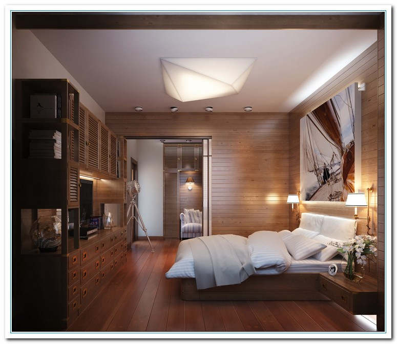 30 Stylish And Contemporary Masculine Bedroom Ideas: Modern Bedroom And Livingroom Decoration