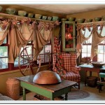 primitive decorating ideas for living room